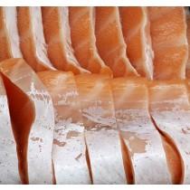 挪威三文魚腩刺身 Norwegian Salmon Belly Sashimi (每磅)