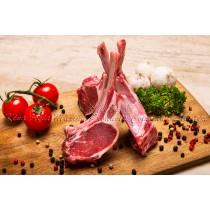紐西蘭法式羊架8支骨 New Zealand Bone in Lamb Frenched Rack 8 Ribs (每磅)