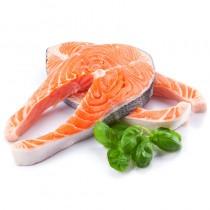 挪威三文魚扒 Norwegian Salmon Steak (每磅)