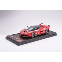 FERRARI FXXK ROSSO SCUDERIA CAR NO.12 - BBRC175B - LIMITED 100PCS - RED
