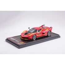 FERRARI FXXK ROSSO CORSA CAR NO.13 - BBRC175F - LIMITED 100PCS - RED