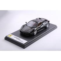 FERRARI 458 SPYDER WITH HARD TOP (NERO STELLATO) – LS393HTB – BLACK