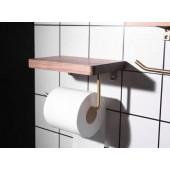 胡桃木廁紙架 (G60WG)