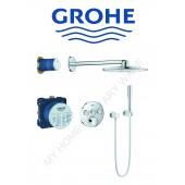 Grohe入牆式圓形淋浴套裝(34709)